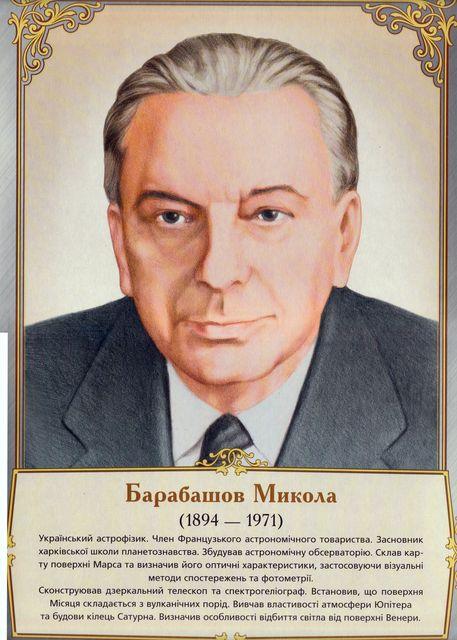 Барабашов николай