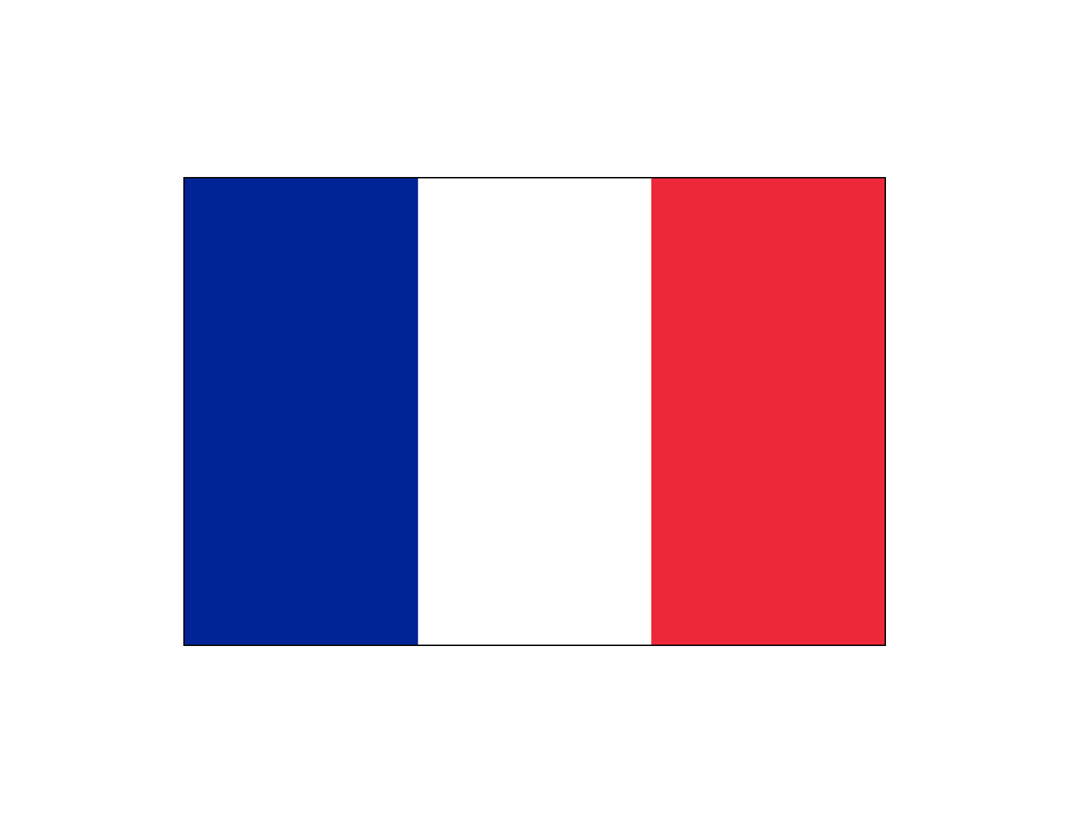 This is a photo of Adaptable Printable French Flag